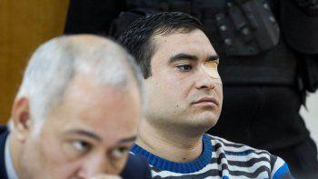 Carlos Carrasco es defendido por el abogado particular Pablo Barrionuevo, quien reclamó su absolución.