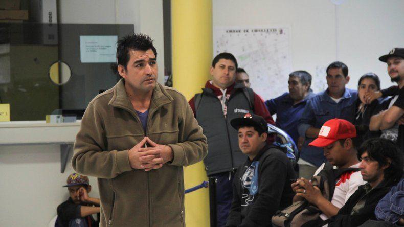 El sindicato que conduce Omar Meza asegura ser