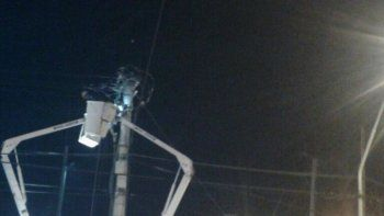 Media ciudad se quedó sin energía por un apagón