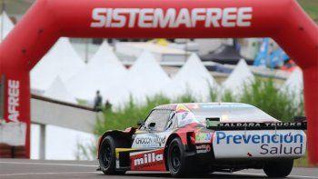 TC: Manu Urcera terminó 9° en una carrera suspendida por la lluvia