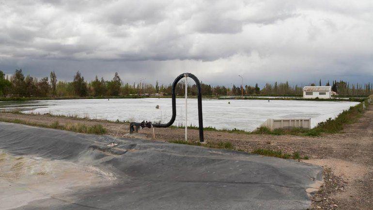 La planta de tratamiento de líquidos cloacales depura hoy solamente el 50% de los efluentes domésticos. Lo demás va a parar crudo al río Negro.