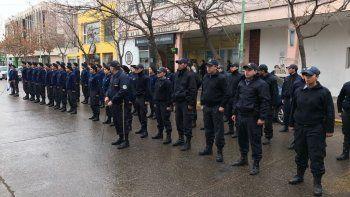 La Policía realizó un acto a 18 años de la masacre del Banco Río