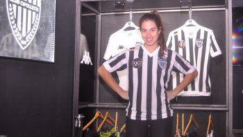 Daniela Argüello tiene 21 años y un pasado reciente como atleta local en la Escuela Municipal.
