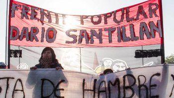 El Frente Darío Santillán se concentrará desde las 9.