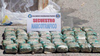 La droga que fue transportada a San Antonio estaba dividida en ladrillos que pesaban casi un kilo.