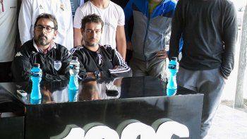 Romero y Berardo, dos integrantes de la actual subcomisión de fútbol.