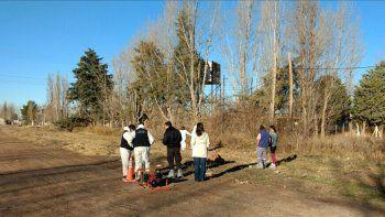 Misterioso hallazgo de restos humanos en un parque industrial