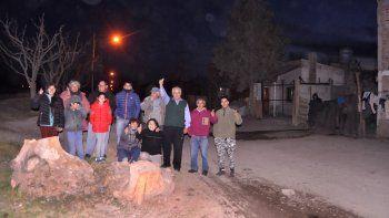 Las familias del sector norte del barrio esperaban las obras desde 2015, cuando comenzaron las gestiones.