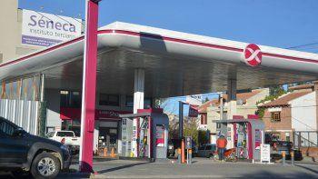 El robo frustrado ocurrió en una estación de servicio Axion de Neuquén.