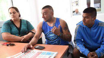Pucará Vidal y su hijo terminaron en el calabozo ayer por la madrugada. El menor fue liberado rápidamente.