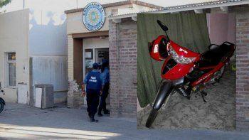 el delivery que fue asaltado debio pagar un rescate de $3.500 para recuperar la moto