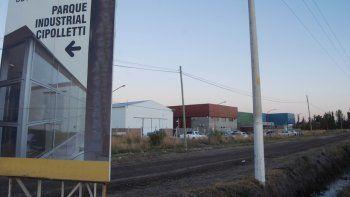 En el parque industrial se apuesta a la radicación de más empresas.