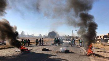 ATE levantó los bloqueos en la Ruta 65 contra el Municipio de Oro