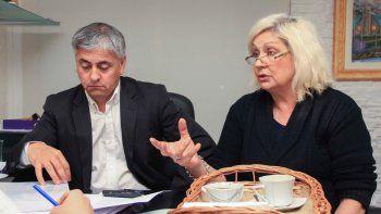 Martínez Llenas y Marín se encargaron de dar los detalles del trabajo.