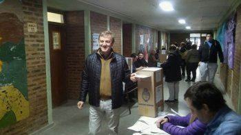 Tortoriello votó en Cipolletti.