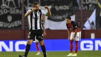 Piñero da Silva, autor del gol ante San Lorenzo para Cipo en su estreno.