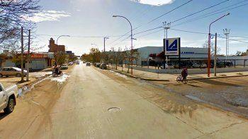 la calle colombia se convirtio en mano unica a partir de hoy