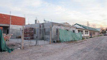 La obra de ampliación del CET 22 fue abandonada por la empresa que se había adjudicado el proyecto.
