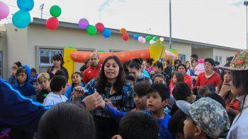 En el Anai Mapu, los festejos tuvieron lugar en el SUM de la Escuela 294.