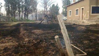 mas de 2 mil hectareas de chacras fueron consumidas por el fuego