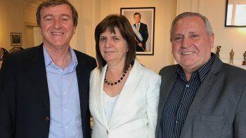 Aníbal Tortoriello se reunió con la ministra Patricia Bullrich