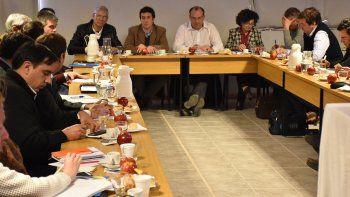 La reunión se llevó a cabo en la vieja estación experimental del INTA, en J.J. Gómez.