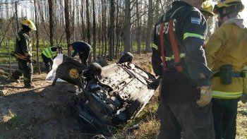 Una mujer murió tras volcar sobre la Ruta 22 en Guerrico