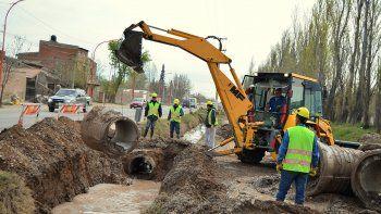El desagüe pluvial que comenzará a realizar la empresa Zoppi abarcará a grandes barriadas de la zona este del casco urbano, principalmente el Piedrabuena.