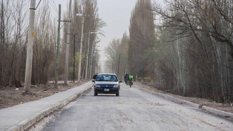 Hay sectores del tramo rural de la Illia que ya están siendo muy utilizados.