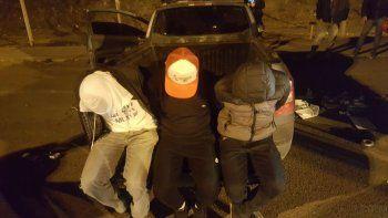 Los tres narcos de la zona fueron atrapados por la Federal en los puentes.