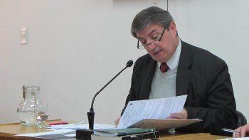 El fiscal Marcelo Gómez está encargado de la acusación.
