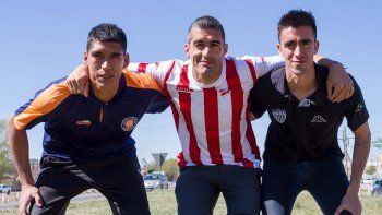 Paniccia, Berra y Ávila. Roca, Independiente y Cipo. Los tres representantes valletanos en el Federal A ya están listos para poner primera.
