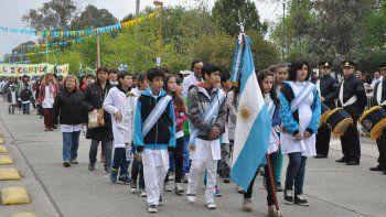 El desfile se realizará el domingo 1° de octubre, en calle Fernández Oro.
