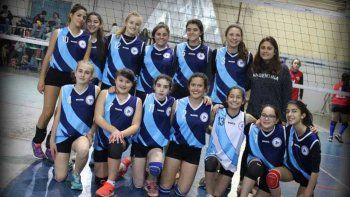 El equipo completo de Cipo campeón provincial. Foto gentileza.