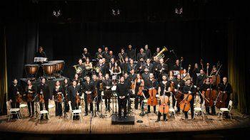 La Orquesta Filarmónica de Río Negro mañana mostrará su arte.