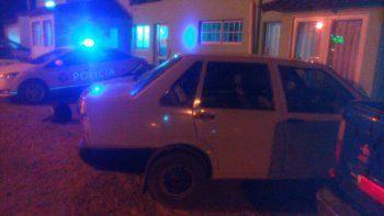la policia recupero un auto con el numero de motor adulterado