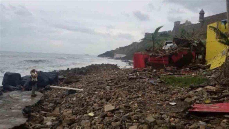 El barrio donde se filmó Despacito, destruido por el huracán María