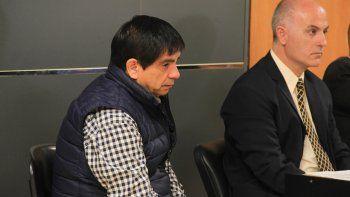 El ex legislador López siguió con atención la acusación de la fiscalía.