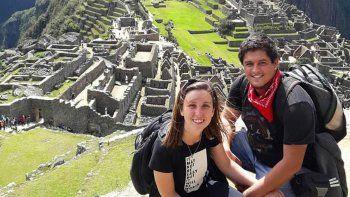 Eliana y Bruno no querían hijos ni una casa, sino una aventura que los movilizara. Se fueron hace seis meses.