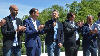 El tercer puente quedó oficialmente inaugurado el viernes pasado por el presidente Mauricio Macri, quien realizó una breve visita a la región.