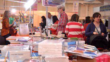 Los libros convocaron a una multitud durante el fin de semana.
