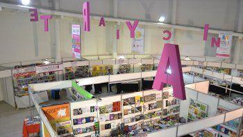 La Feria del Libro este año tiene lugar en el Centro de Espectáculos.