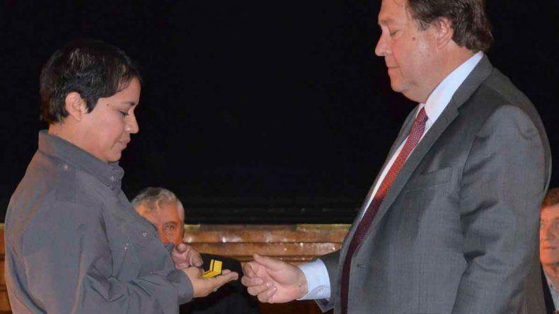 Weretilneck oficializó los ascensos del personal carcelario.