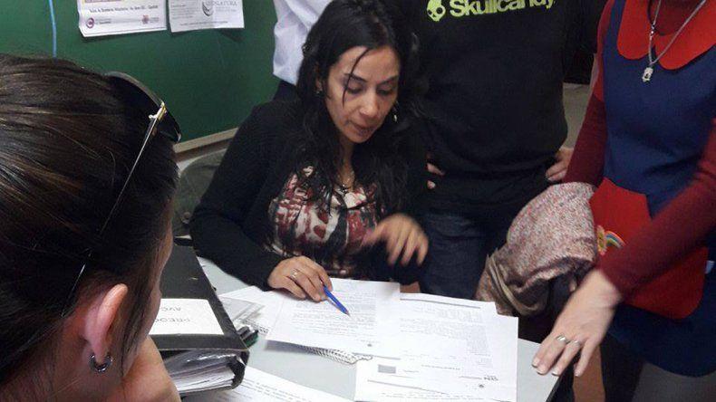 El gremio hizo una presentación administrativa en el Consejo Escolar.