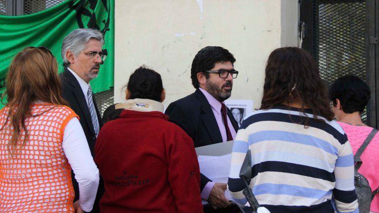 El fiscal Gustavo Herrera fue el encargado de concretar la acusación