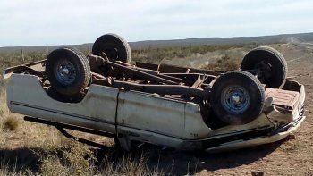 Un hombre de 58 años murió en un trágico vuelco sobre la Ruta 151