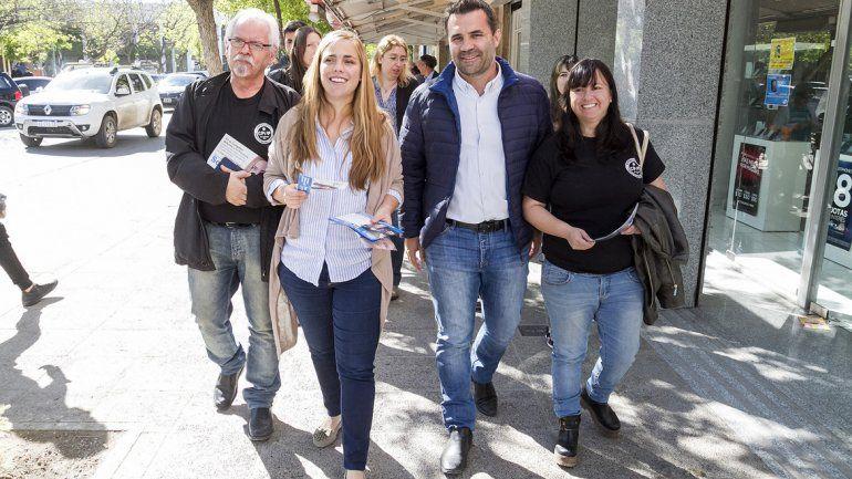 Soria hizo campaña en las calles cipoleñas y dijo que aún no son ganadores