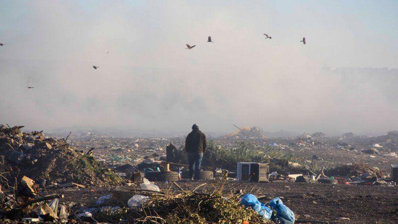 El humo del basural volvió a cubrir la ciudad