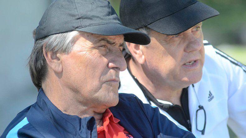 Tocalli interactuó con Cesarín durante la prueba de jugadores.