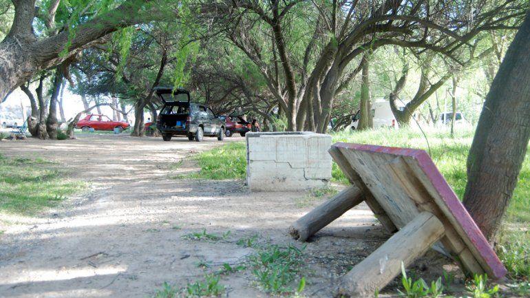 Las instalaciones municipales de El 30 fueron destrozadas por vándalos.